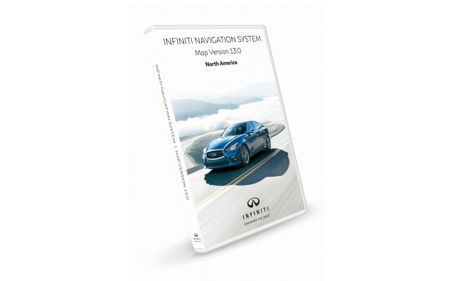 INFINITI Navigation First Generation SD Map Update Version 13 for United States and Canada product photo